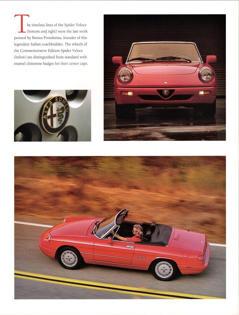 1994 Alfa Romeo Commemorative Edition Spider Veloce Flickr Wheel Centre Caps By Aldenjewell
