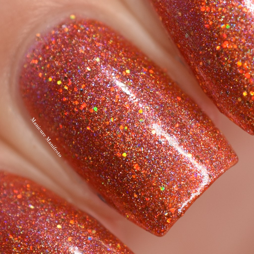 Girly Bits No Pumpkin Way swatch