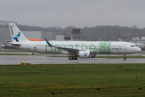 D-AVYI // Azores Airlines // A321-253N // MSN 7972 // CS-TSF | by Martin Fester