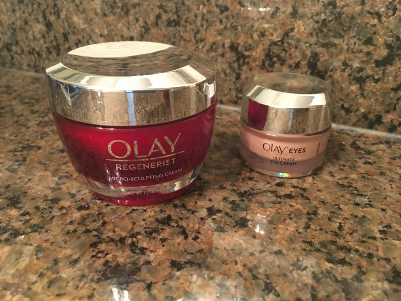 Olay 28 Day Challenge moment in the mirror results