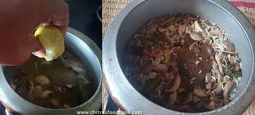 Mushroom peas pulao