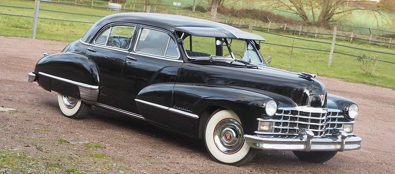 Cadillac Fleetwood Limousine 1947 - Saulx (91) Novembre 2017 26744970329_bd288c17d7_c