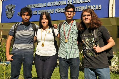 Destacan estudiantes de la UAS  en la XXVIII Olimpiada de Física