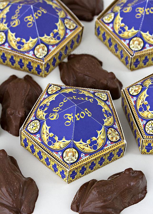 Harry Potter ranas chocolate