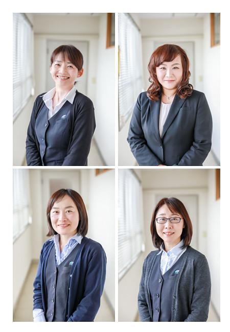 大橋運輸(愛知県瀬戸市)さんへ出張撮影 引越しや生前整理事業の写真 女性社員の写真