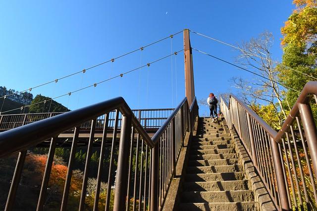 御岳渓谷 杣の小橋