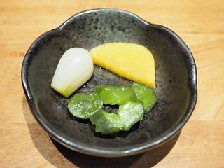 Pickles for the dinner set at Uroko Japanese Cuisine at Section 17, Petaling Jaya | by huislaw