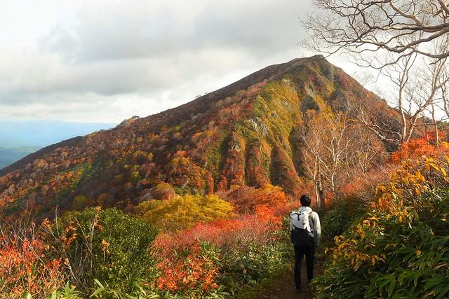 小朝日岳の紅葉
