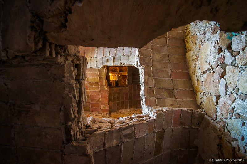 Escaleras del campanario de Sant Miguel de Marmellar