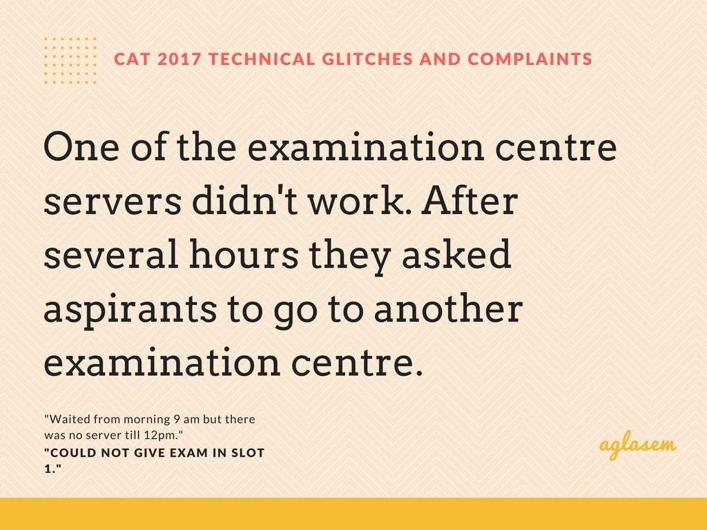 CAT 2017 Exam Fiasco In Kalkaji Exam Centre, Server Failure Wreaks Havoc