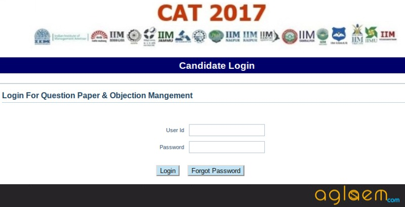 IIM Lucknow Released CAT 2017 Answer Key and QP; Rs 1000 Per Objection