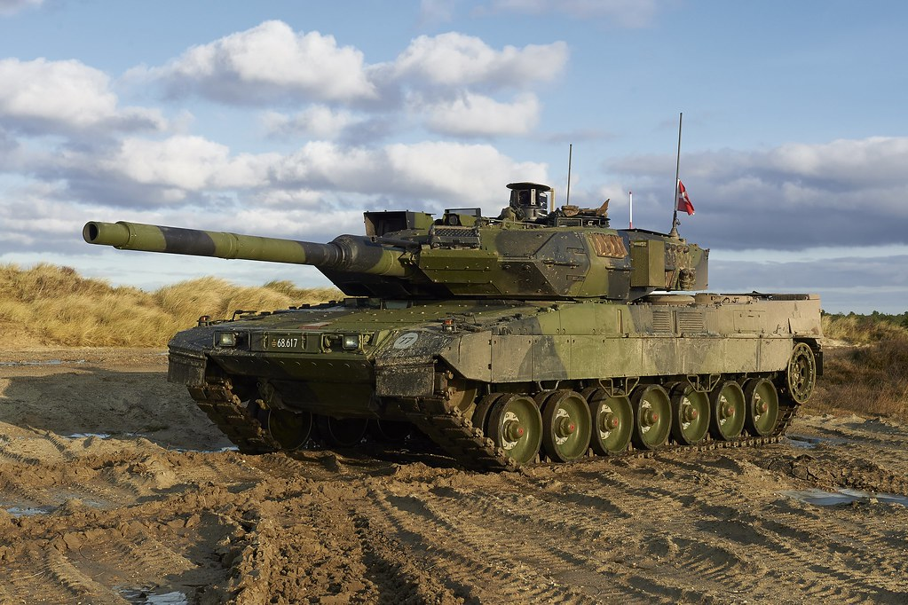 Leopard 2 A7 Dk New Upgrated Main Battle Tank Leopard 2