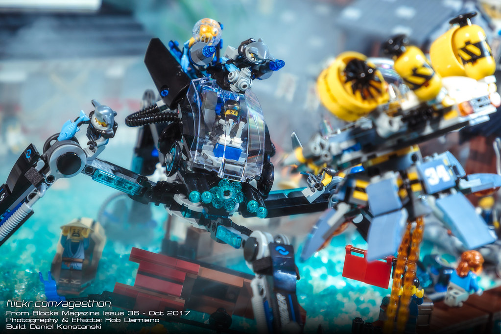 Blocks Mag: Ninjago City 2 | Here's another photo of my coll… | Flickr