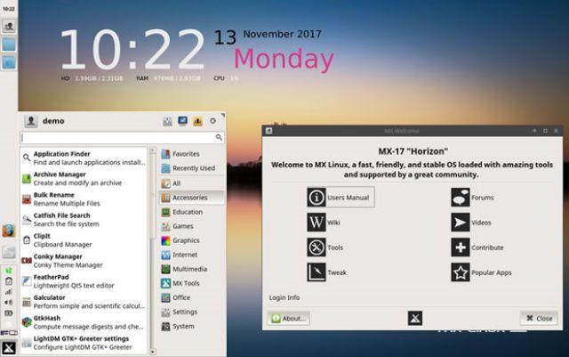 MX-17-Linux