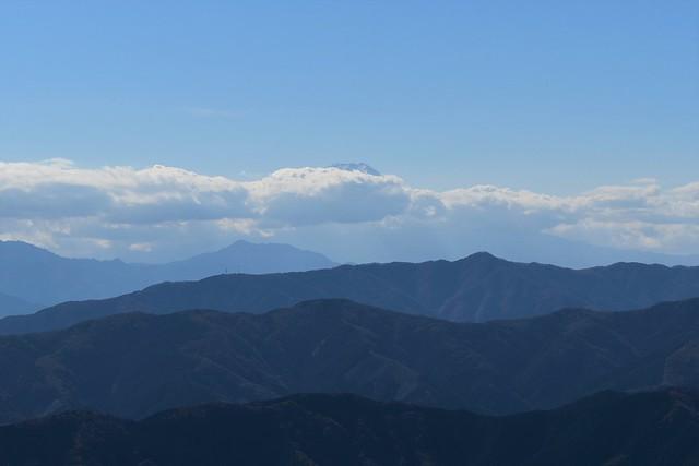 大岳山からの富士山