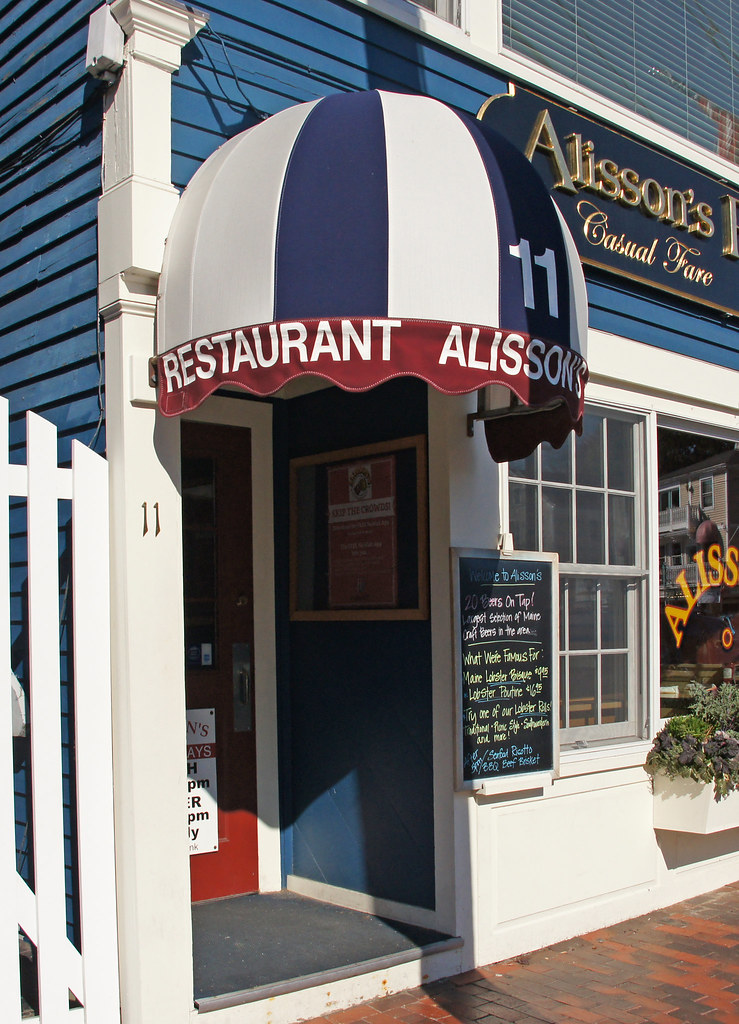 Alisson S Restaurant Kennebunkport Maine 04915 Www Flickr Flickr
