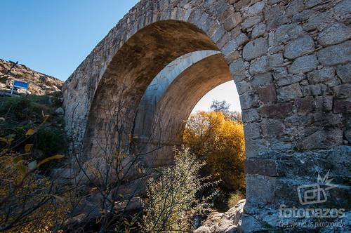 Puente del Grajal en Colmenar Viejo