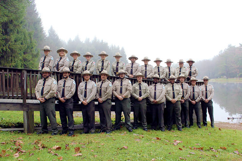 Group of Newly Graduated Maryland State Park Rangers