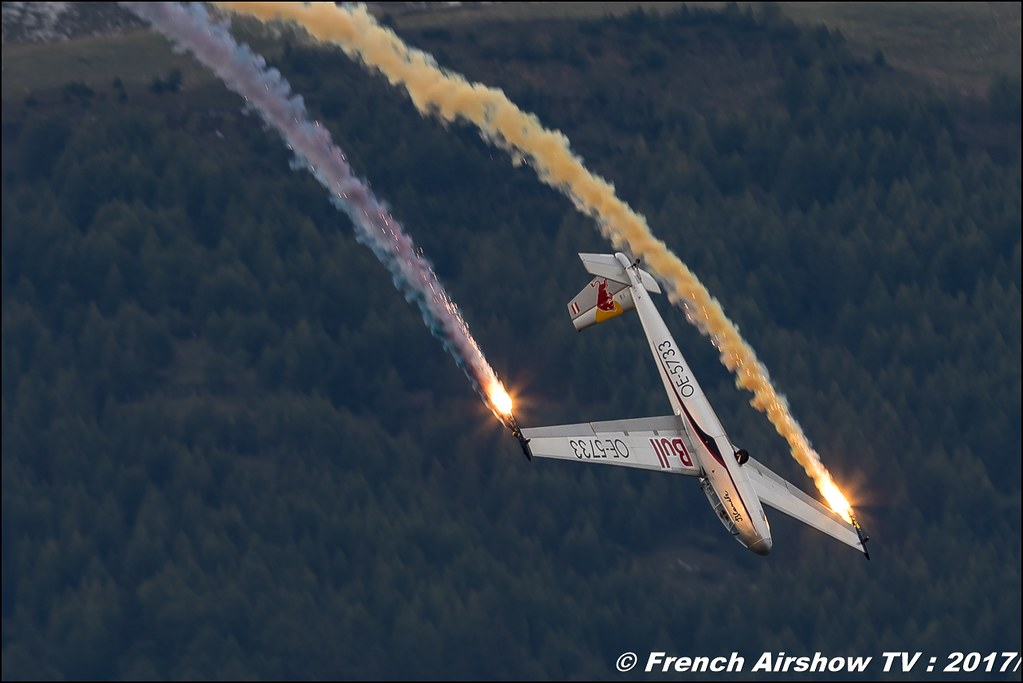 Blanix-Team The Flying Bulls Blanik L 13 - OE-0758 , OE-5733 , Breitling Sion Air Show 2017 , sion airshow , montagne , Alpes suisse , Canton du Valais , Meeting Aerien 2017