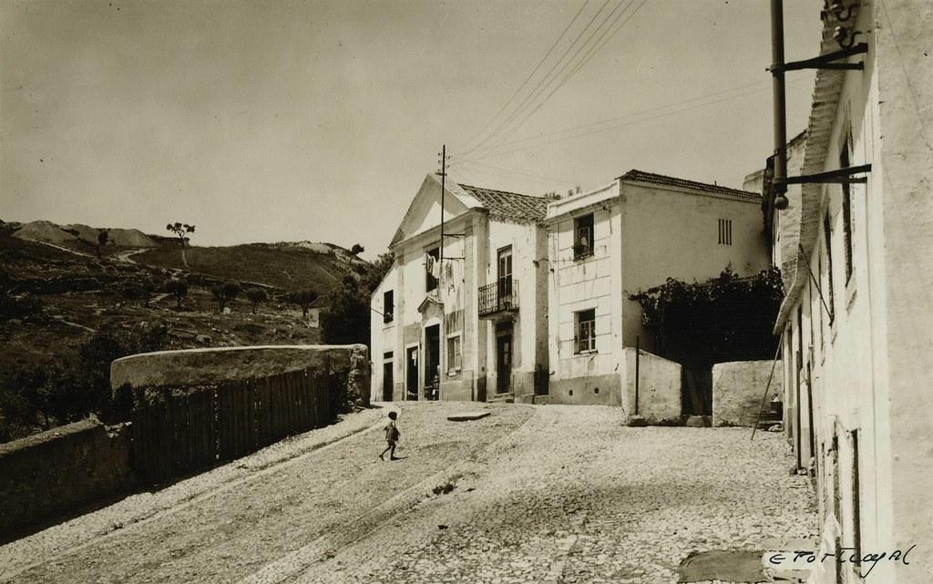 Capela da Sr.ª de Santana no Vale de Alcântara  (E. Portugal, c. 1940)