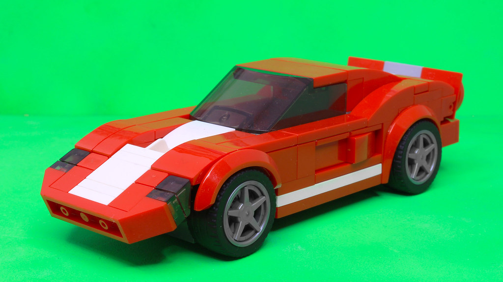 Lego Speed Champions 2005 Ford GT | I used the Speed Champio… | Flickr