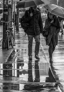 Conversation in the Rain | by stephanieswift2