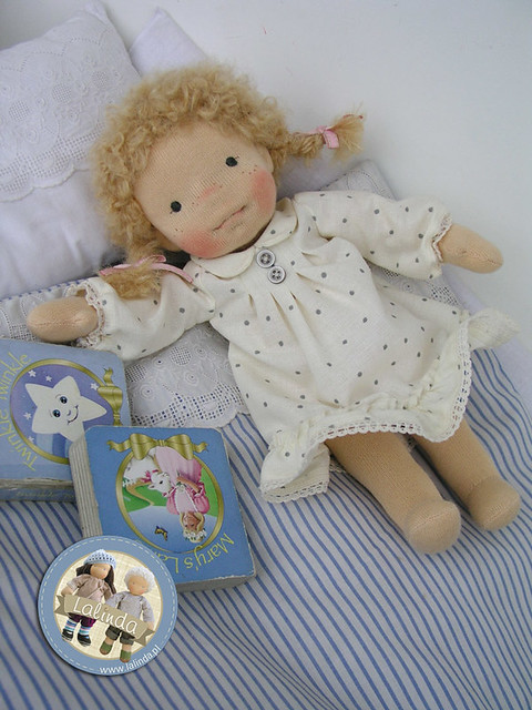 Lena - little girl  (11 inch) plus three outfits