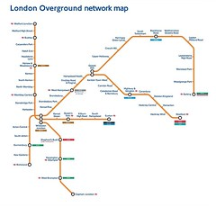 London Overground Network Map 2007 Transport for London Flickr