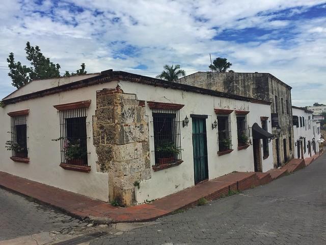 Calle de las Atarazanas en Santo Domingo (República Dominicana)