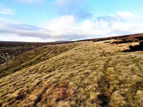 Looking back towards Oyster Clough
