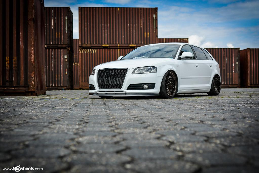 Audiawagonmglosslaserbronze Avant Garde Wheels Flickr - Audi a3 wagon