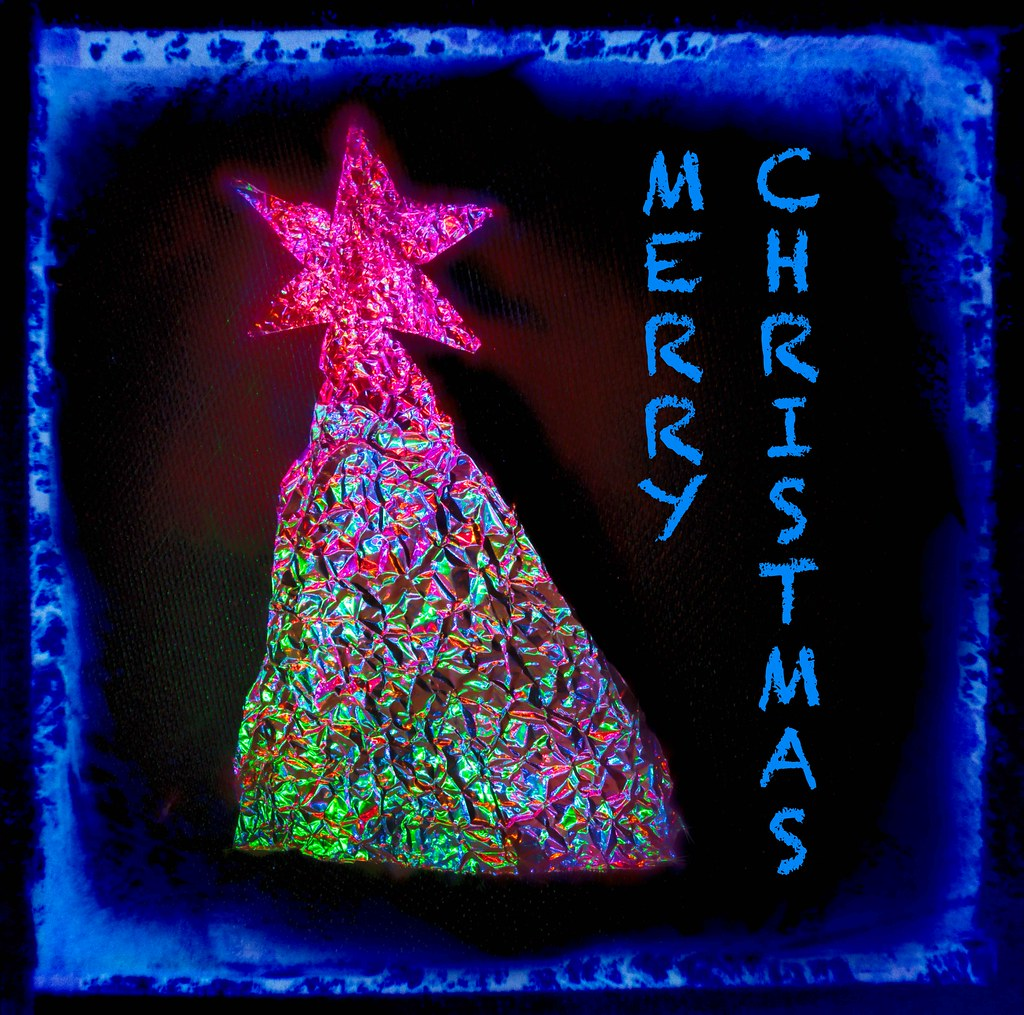 Oh Christmas Tree | Here\'s a Christmas card done for this we… | Flickr