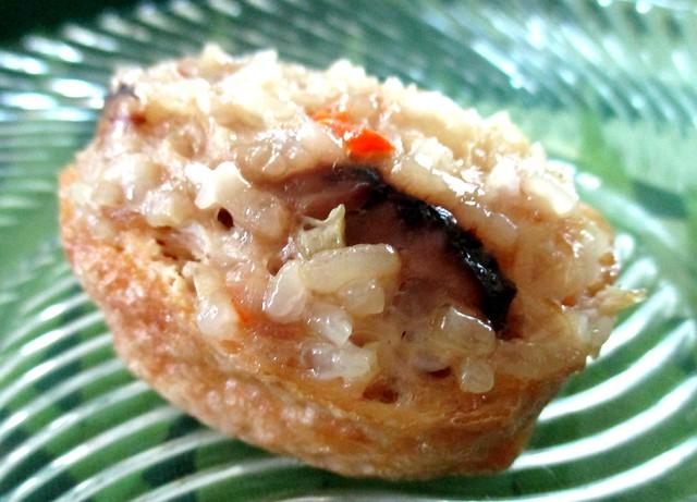 Yong Chuan Fish Noodles stuffed tofu puff skin 1