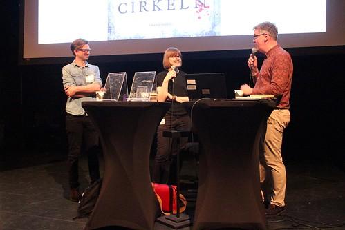 Karl Johnsson, Sara Bergmark Elfgren & Patric Schylström.