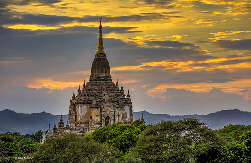 The Sulamani Temple after sunset - Bagan, Myanmar | by Phil Marion