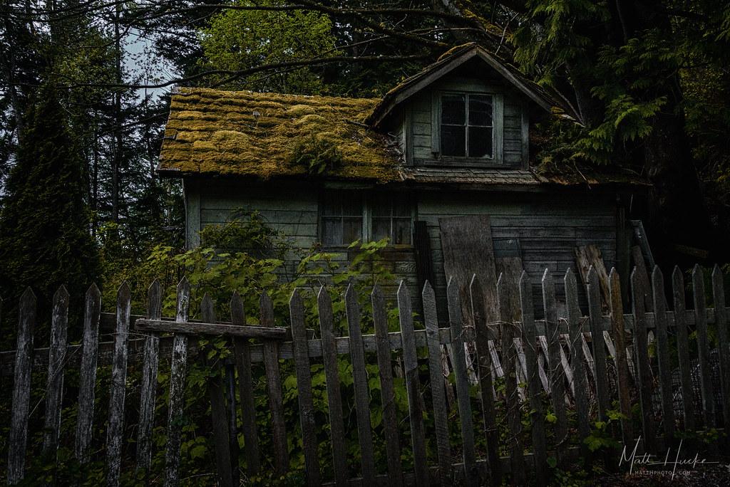 The Shunned House Near Taylor Shellfish Farms Chuckanut