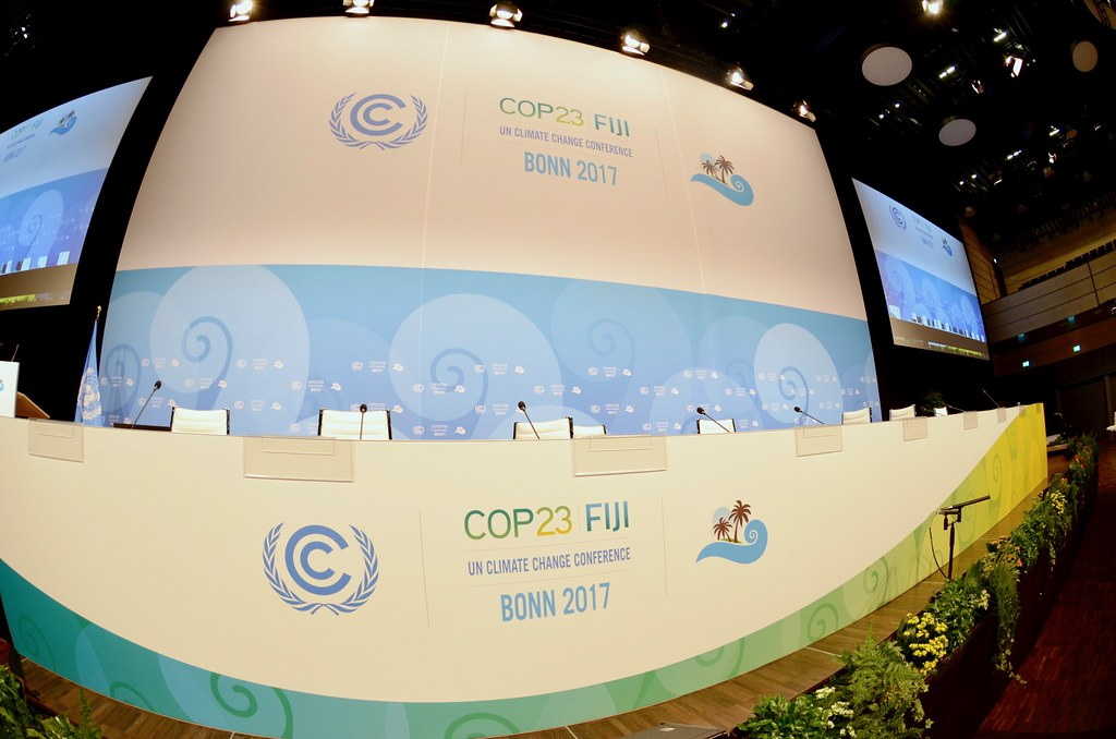 COP23會場。圖片來源:Max Thabiso Edkins/Connect4Climate