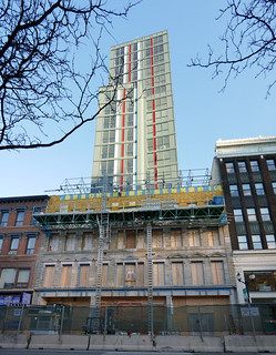 William Thomas residences facade reconstruction and tower progress | by .JCM.
