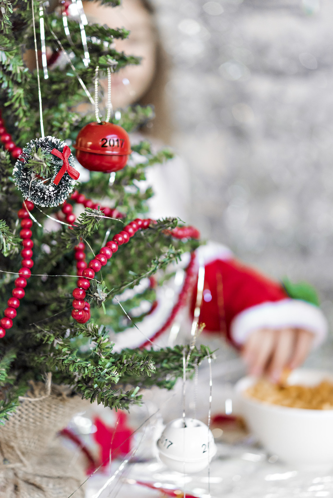 Decorate Your Own Christmas Tree Station For Kids