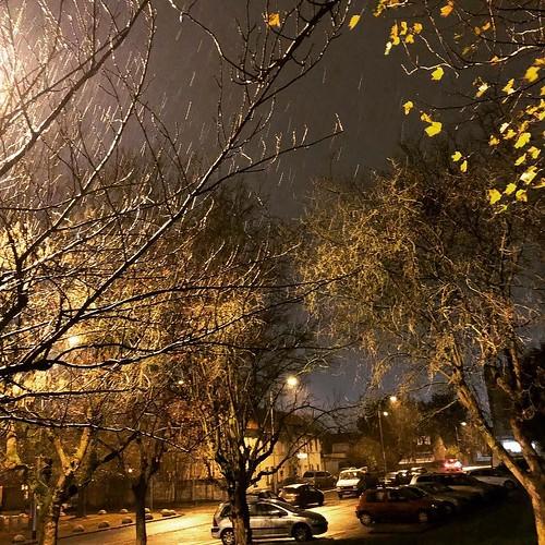 season Oui hier au soir la neige ⛄️...