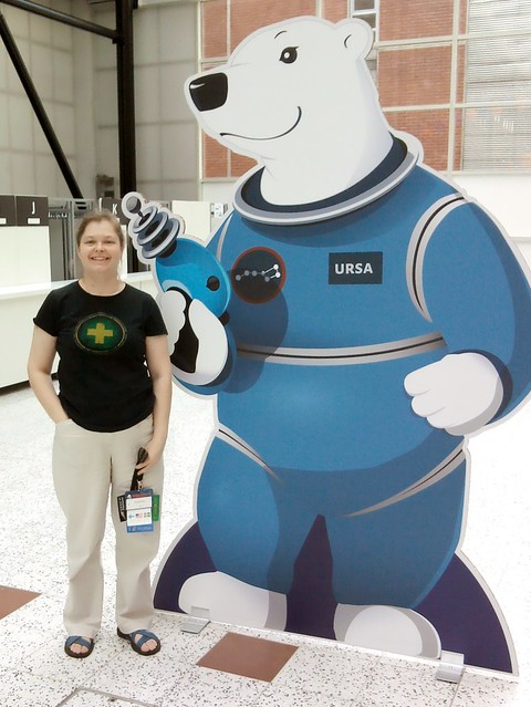 Eppu at Worldcon 75 in Helsinki Aug 2017