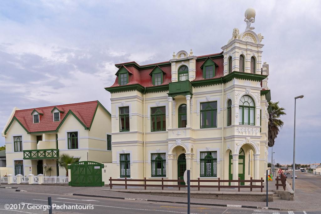 german architecture in swakopmund namibia swakopmund ger flickr
