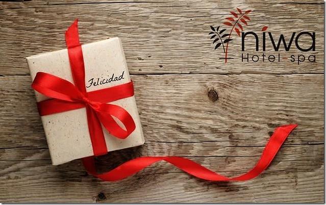 Puestos a regalar, ¡¡regalemos felicidad!! en Niwa Hotel & Spa