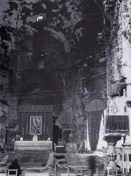 Altar de la iglesia de los Santos Juanes en Valencia.