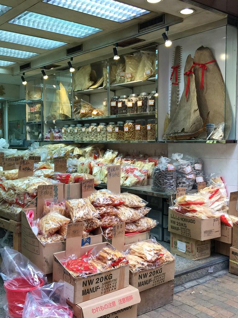 香港是全球魚翅貿易樞紐之一。資料照片。圖片來源:BLOOM香港。