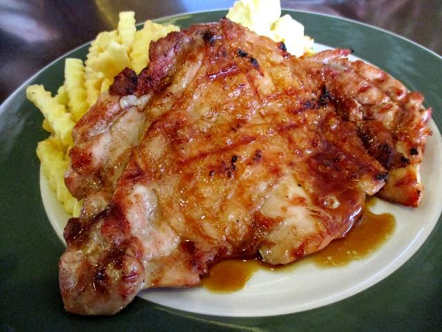 Bistecca & Bistro teriyaki chicken chop