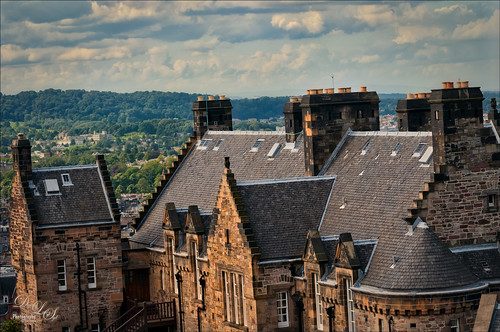 Image of view from Edinburgh Castle, Scotland