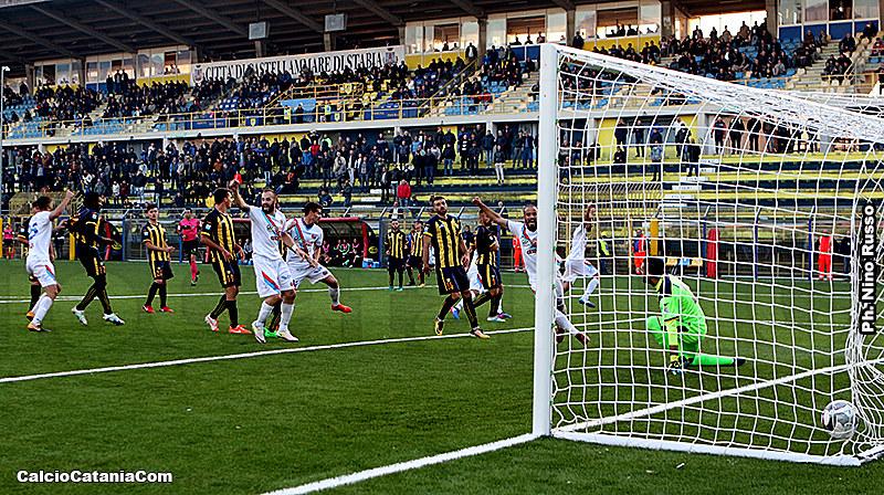 Il gol vittoria di Andrea Mazzarani
