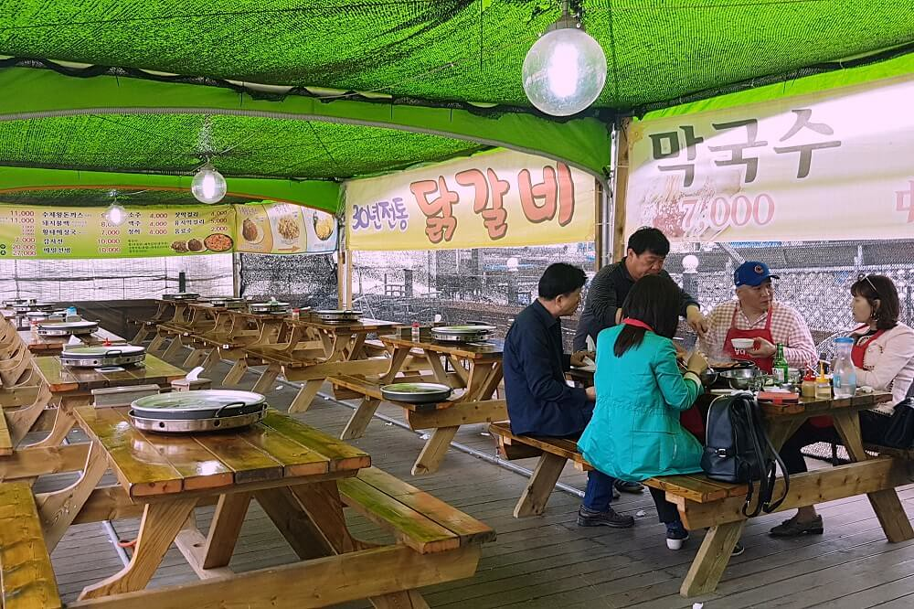 bulgogi restaurant in nami island