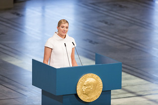 Nobel Peace Prize Ceremony | by International Campaign to Abolish Nuclear Weapons